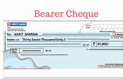 Types of Cheque