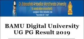BAMU result declare today